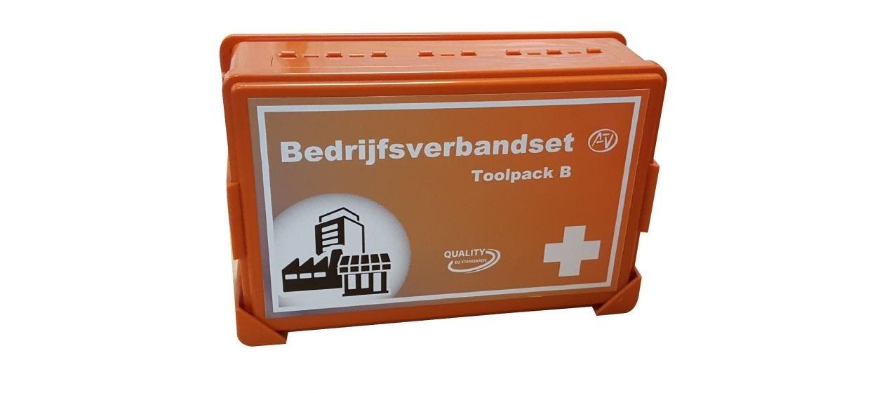 EHBO koffer Toolpack B met wandhouder