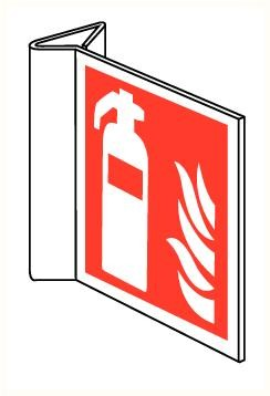 Bordje Haaks Brandblusser