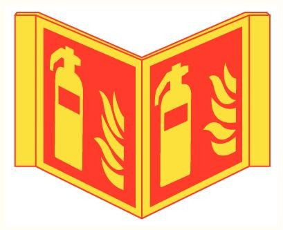 Bordje Panoramisch Brandblusser