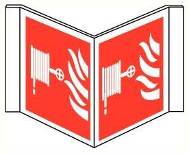 Bordje Panoramisch Brandslang
