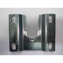 Muurplaat Pro-Line Haspel Aluminium
