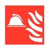 Sticker Brandweerhelm