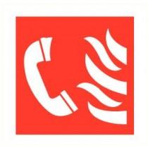 Sticker Noodtelefoon
