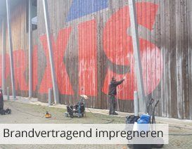Brandvertragend impregneren